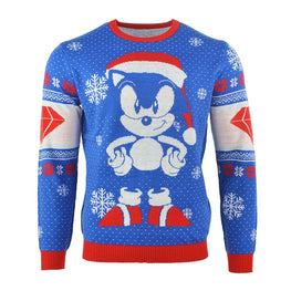 Official Sonic the Hedgehog Sonic Gem Christmas Jumper