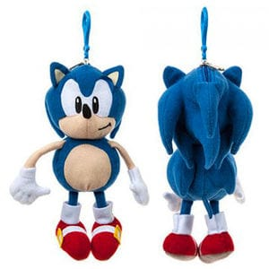 "Official Sonic the Hedgehog 8"" Plush Coin Purse with Clip"
