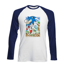 Official Modern Sonic Green Hill Zone Raglan
