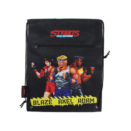 Official Streets of Rage Character Drawstring Bag