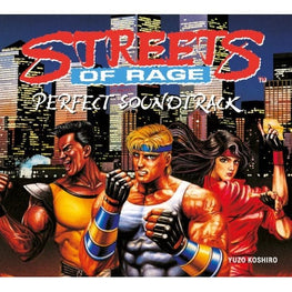 Official Streets of Rage Original Soundtrack CD