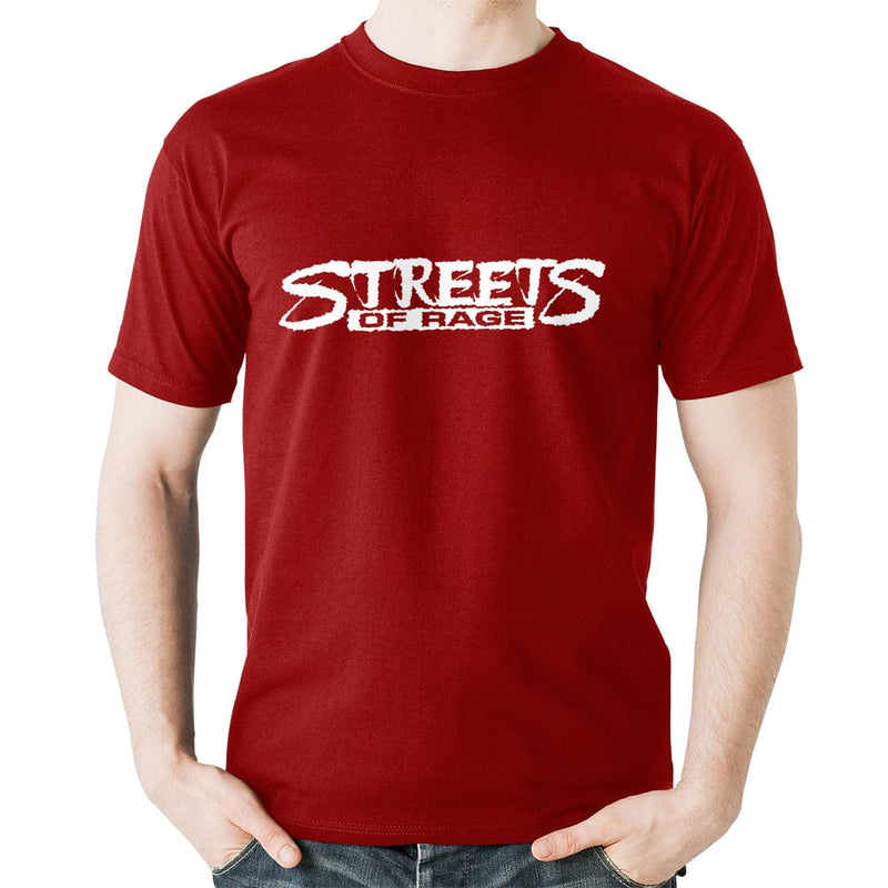 Official Streets of Rage Distressed Logo T-Shirt