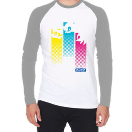 Official Modern Sonic Trio Colour Bar Raglan