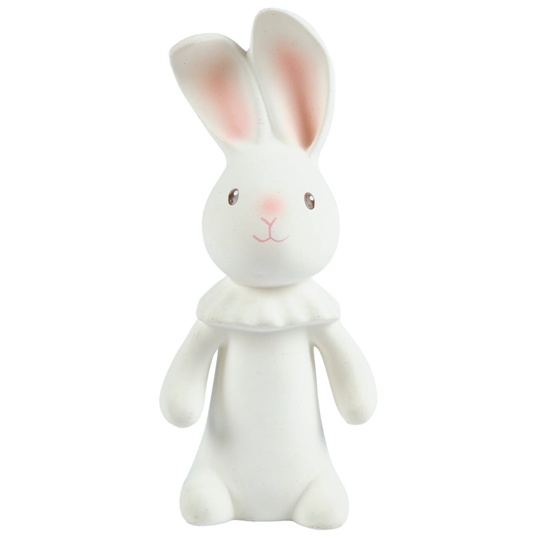 Havah the Bunny all rubber baby teether squeaker toy