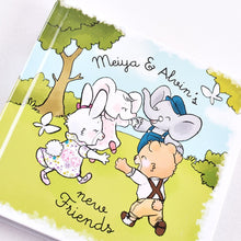 Meiya And Alvin New Friends Printed Book - Tikiri Toys