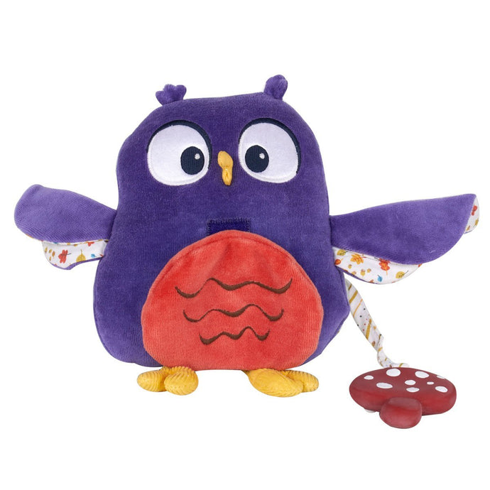 Owl Activity Toy With Toadstool Teether - Tikiri Toys