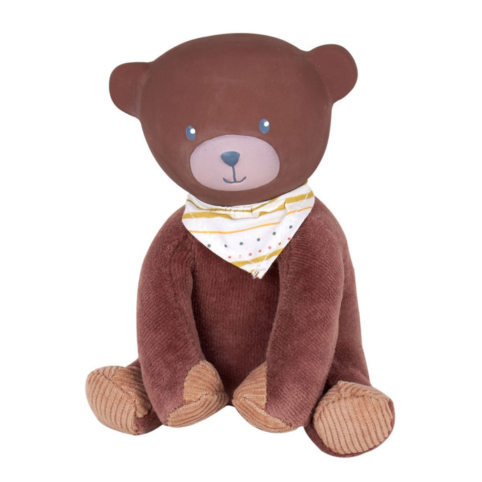Bear Rubber-Head Mini Toy - Tikiri Toys