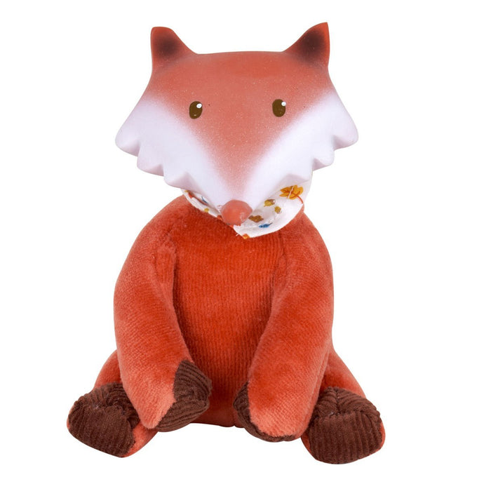 Fox Rubber-Head Mini Toy - Tikiri Toys