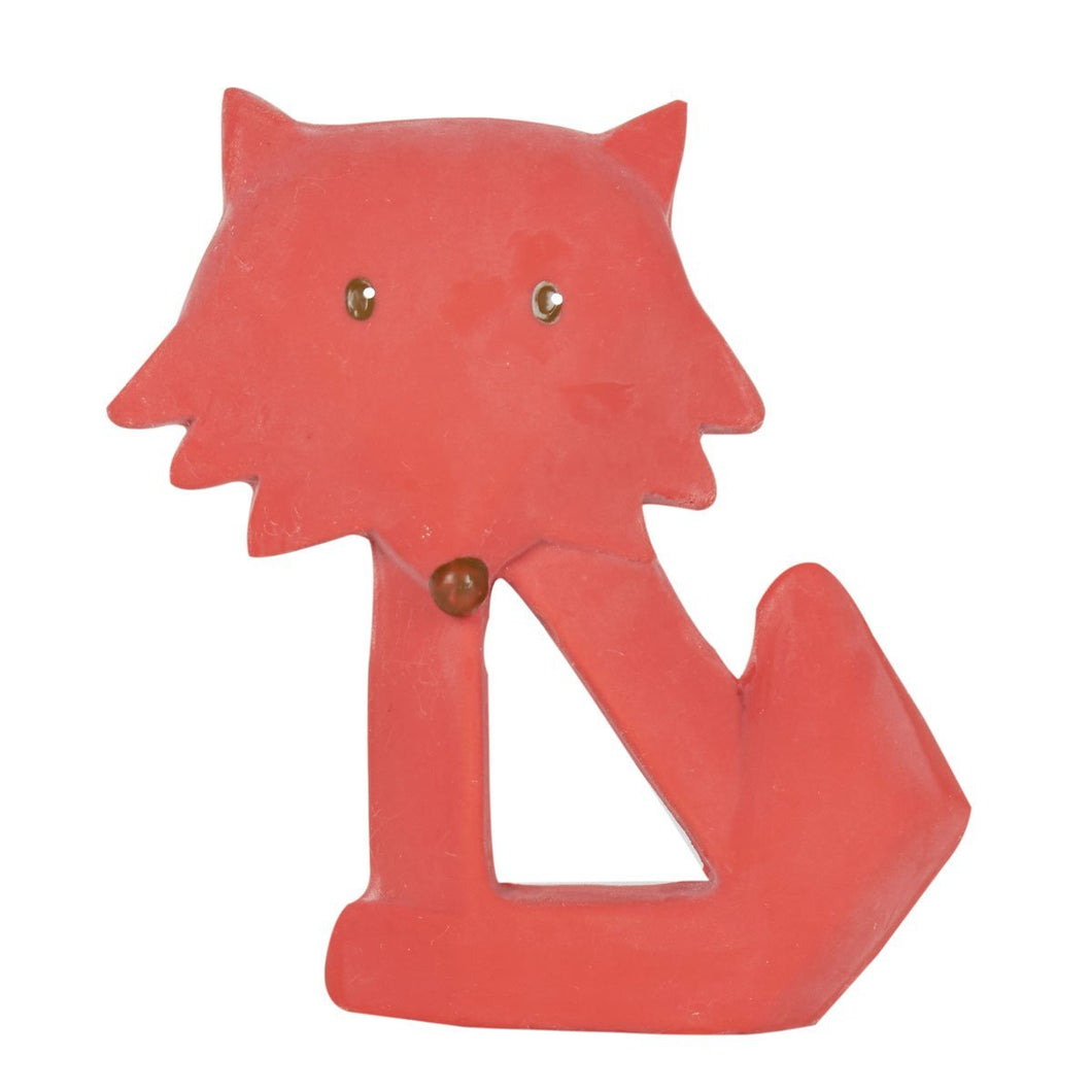 Fox Natural Rubber Teether - Tikiri Toys