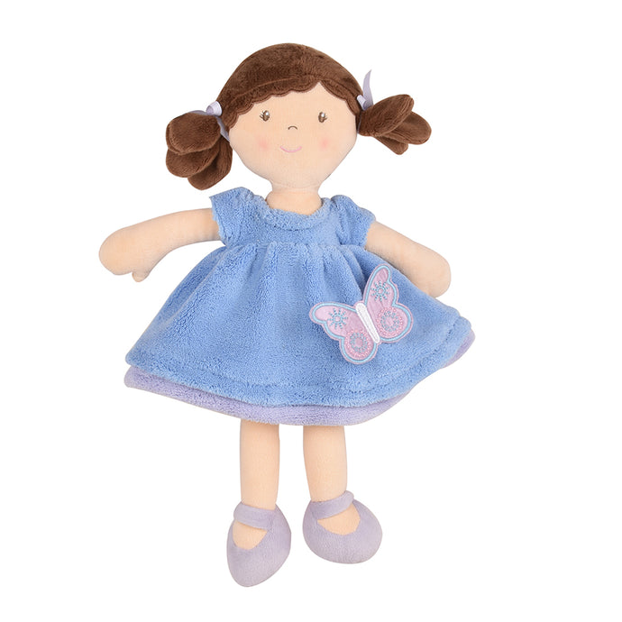 Pari - Brown Hair With Blue & Purple Dress - Tikiri Toys