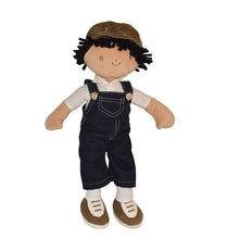 Joe -  Blue Dungaree With Grey Hat - Tikiri Toys