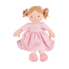 Amelia - Light Brown Hair With Pink Dress - Tikiri Toys