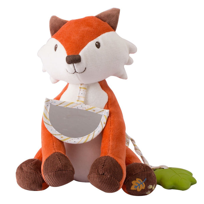 Fox Activity Toy With Acorn (Nut) Teether - Tikiri Toys