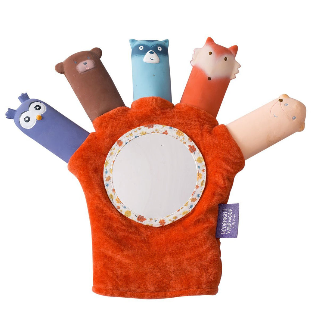 Good Night Wildwood Hand Puppet - Tikiri Toys