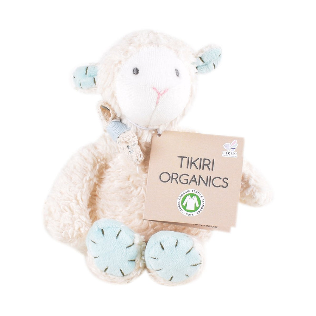 Tikiri Organic Sheep Toy (Small Size) - Tikiri Toys