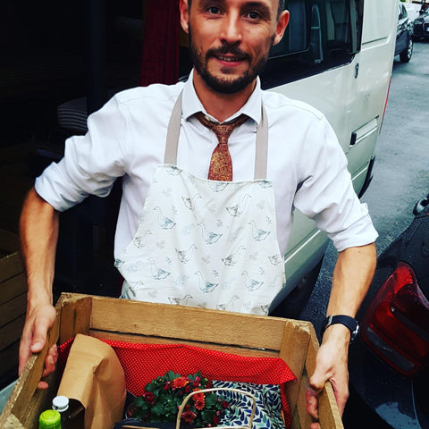 Delivering brunch box in Bristol - fresh, local artisanal breakfast ingredients to your door.
