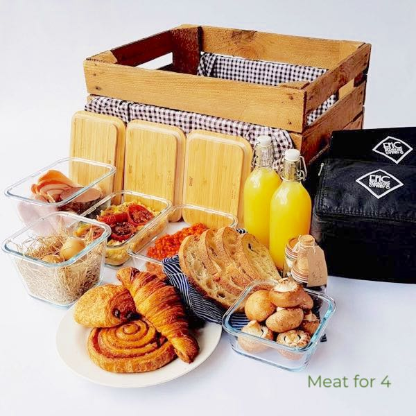Your breakfast meal box
