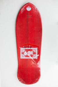 BK OG Gargoyle Skateboard  - Red Dipped