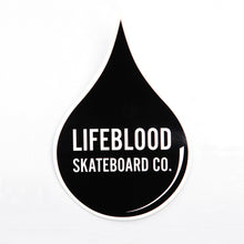 Load image into Gallery viewer, Lifeblood Skateboards Decal