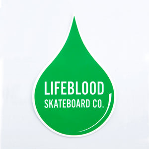 Lifeblood Skateboards Decal