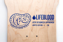 Load image into Gallery viewer, Lifeblood Inouye Stinger Skateboard Top Graphic