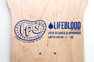 Lifeblood Inouye Stinger Skateboard Top Graphic