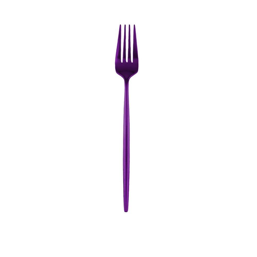 Fourchette de table violet <br> EXOTIC