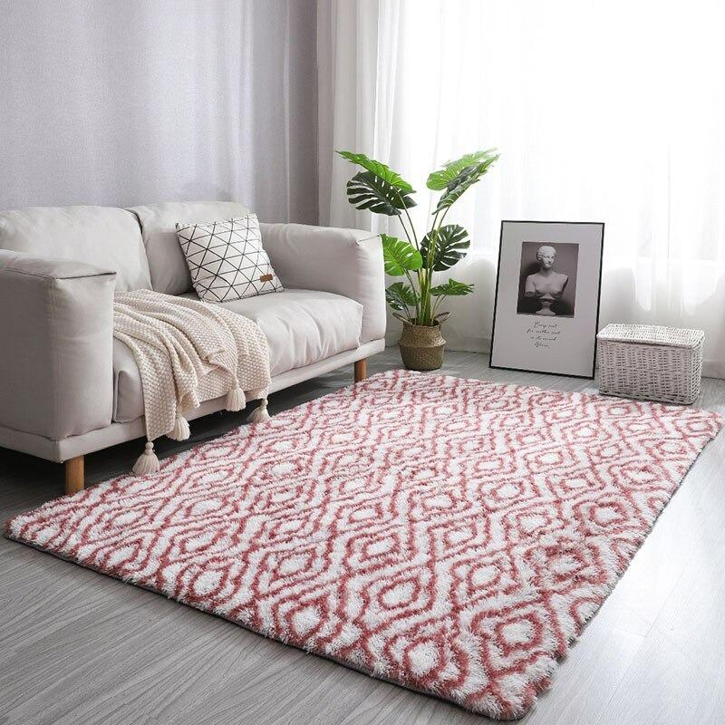 tapis motif rouge-[product-type]-Ambiance Cosy