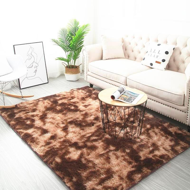 Tapis décoratif <br> Marron