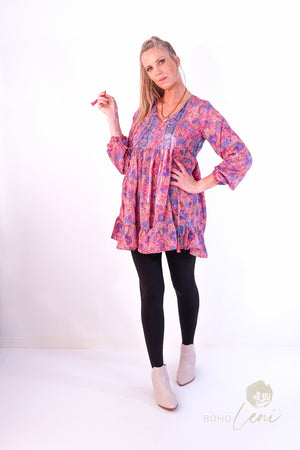 FIONA Blouse - Purple Candy