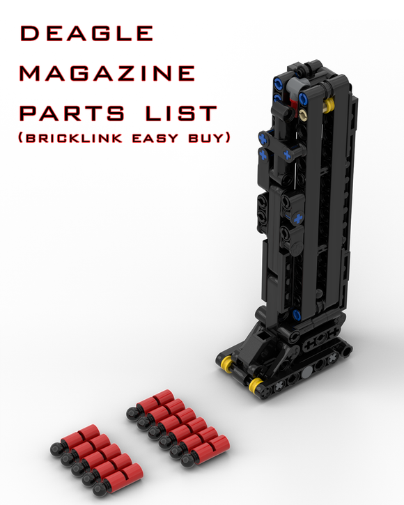 Deagle Magazine Parts List (Bricklink Easy Buy)