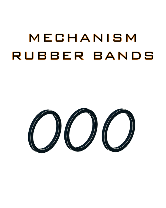 Small Mechanism Rubber bands