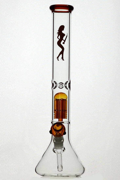 "18"" volcano single 6 arms glass water bong - Bong Outlet.Com"