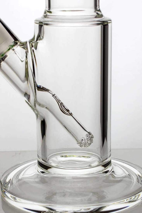 "17"" GENIE thick glass bong with liquid cooling freezer - bongoutlet.com"