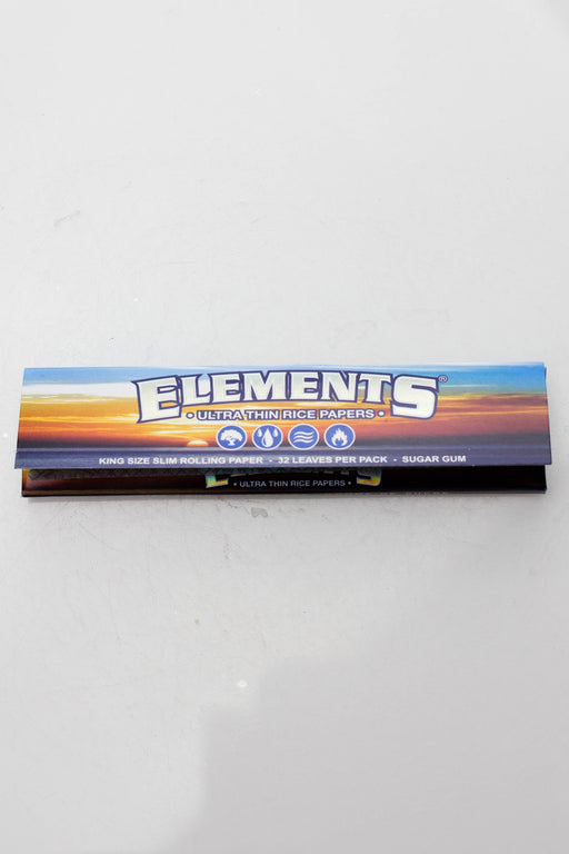 Elements Rice smoking Papers - bongoutlet.com
