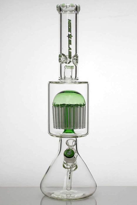 20 inches nice glass 48-arms percolator 7 mm glass water bong - bongoutlet.com