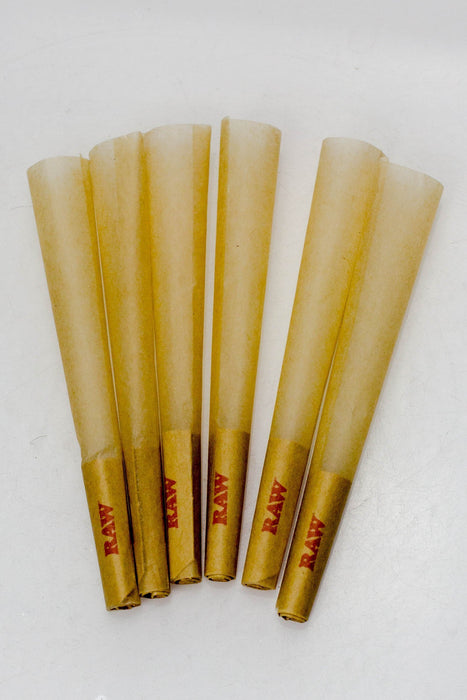 RAW Natural Unrefined Pre-Rolled Cone-1 Pack