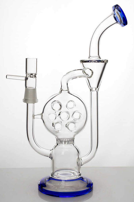 "10"" 2-in-1 swiss and honeycomb diffused recycler - bongoutlet.com"