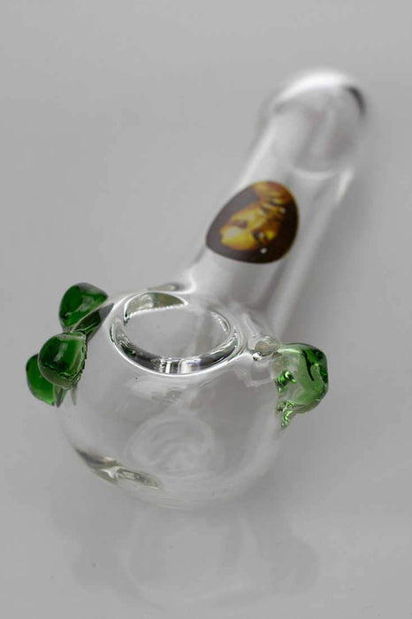 Soft glass 2780 hand pipe - bongoutlet.com