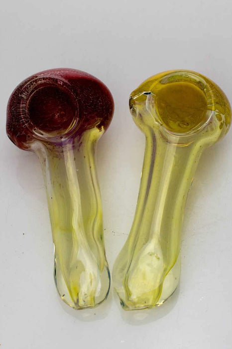 Soft glass 2783 hand pipe - bongoutlet.com