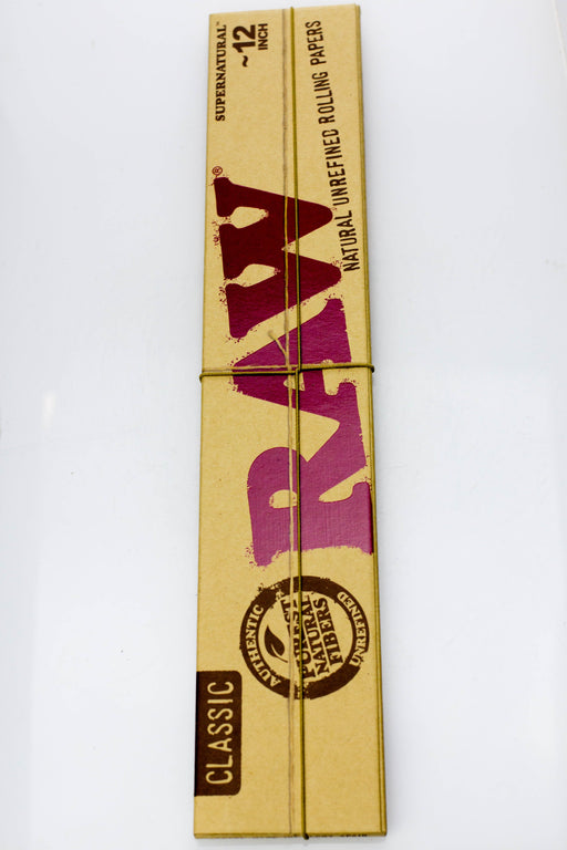 RAW Supernatural 12 in. rolling paper (1 Pack) - bongoutlet.com