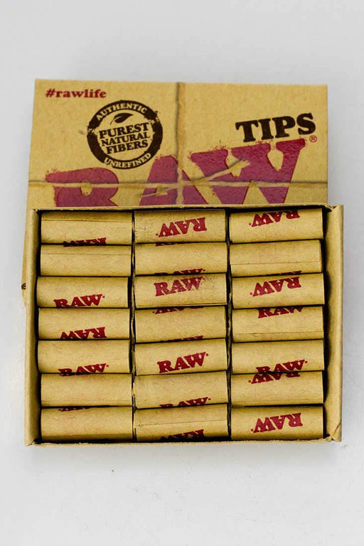 Raw Rolling paper pre-rolled filter tips - bongoutlet.com