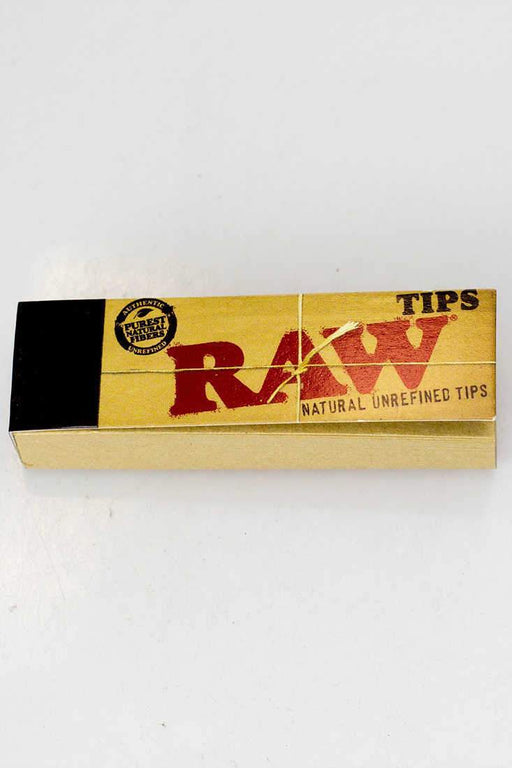 Raw Rolling paper filter tips - bongoutlet.com