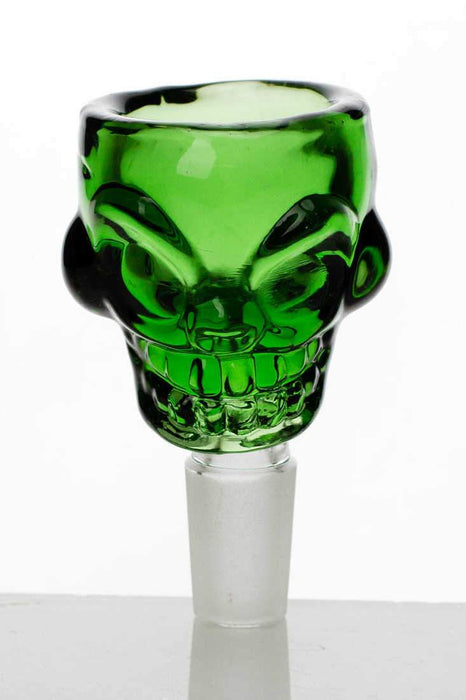 Skull shape glass large bowl