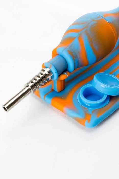 Silicone nectar collector kits