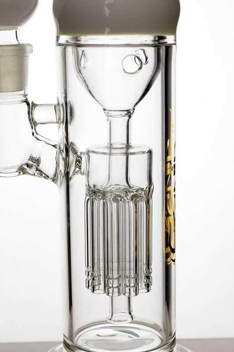 "12"" genie glass 10-arm water recycled bong - bongoutlet.com"