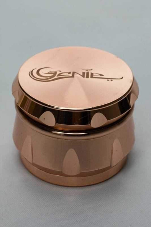 Genie 4 parts aluminium cutting edge large grinder - bongoutlet.com