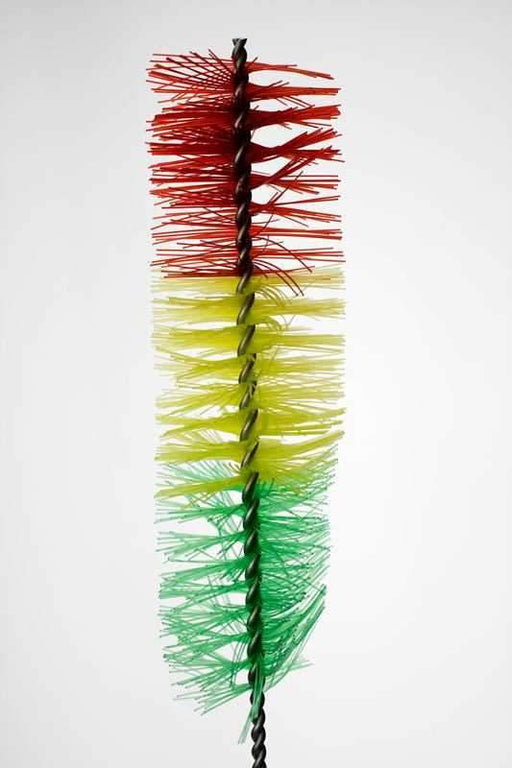 14 in. Nylon tube rasta brush - bongoutlet.com