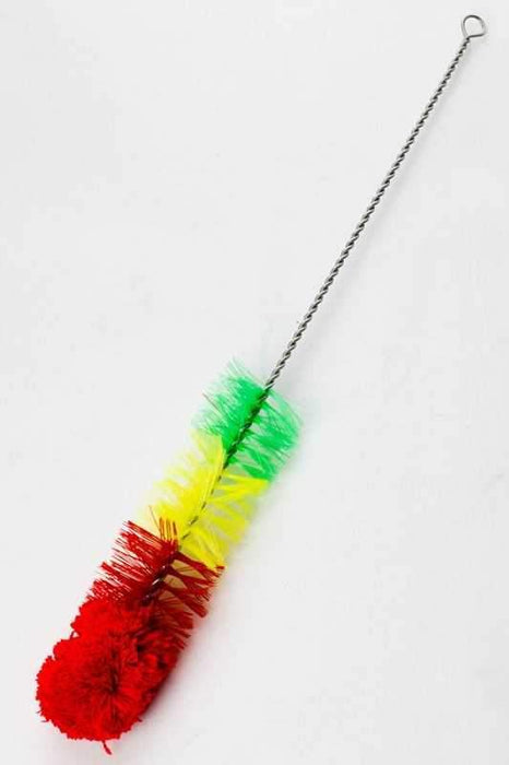 "16"" Nylon tube rasta brush - bongoutlet.com"