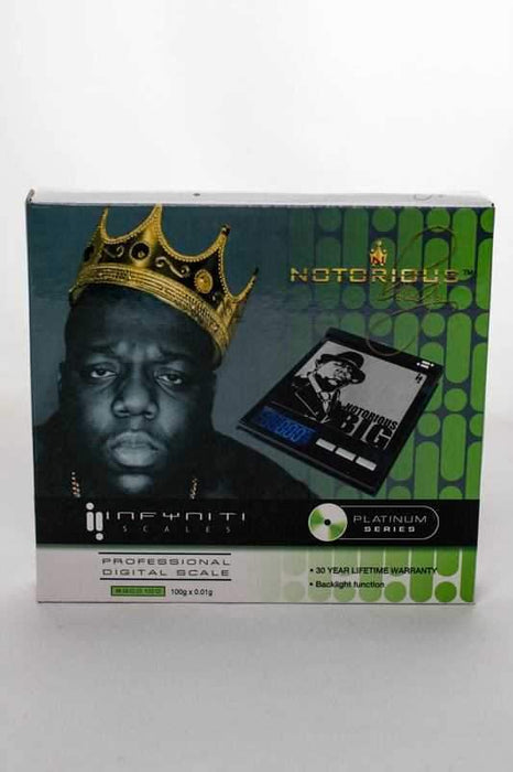 Notorious big BGCO 100 scale - bongoutlet.com